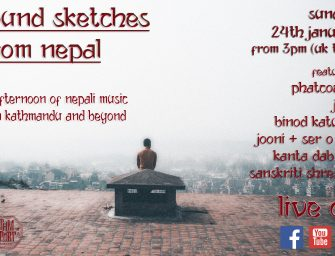 Event Preview: Sound Sketches from Nepal (Online; Sunday 24th January 2021)