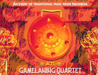 Preview: Indonesian Voices with Gamelaning Quartet & Aga Ujma @ The Post Bar (London; Saturday 19th June 2021)